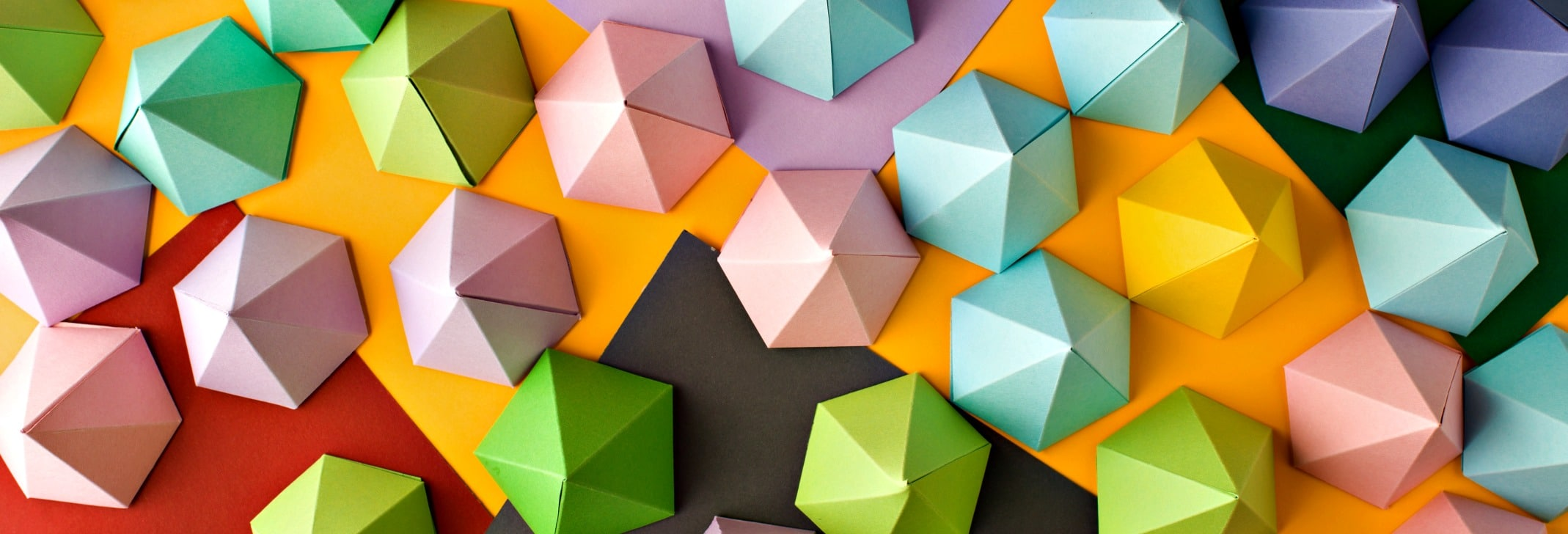 Abstract pyramid composition on colored paper. Usefull for business cards and web
