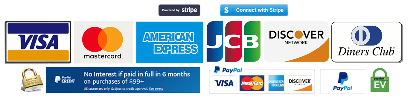 Payments Powered By Stripe and PayPal